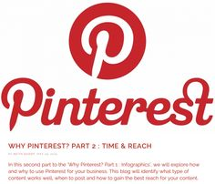 Why Pinterest? Part 2: Time & Reach - 1/6/15 -http://dicelondon.com/pinterest-part-2-time-reach/