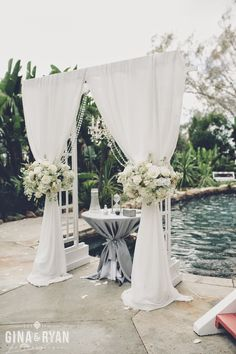 Show Me Your Wedding Arch Chuppah Ceremony Backdrop Inspirations