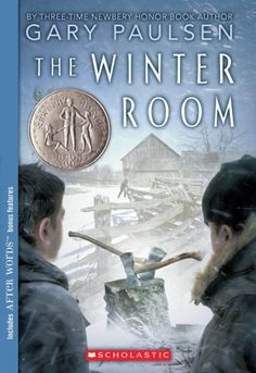 The Winter Room by Gary Paulsen, http://www.amazon.com/dp/0545085349/ref=cm_sw_r_pi_dp_aBcNrb1EZTCAC