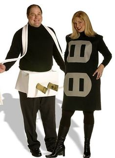 The perfect couples Halloween costume if you looking for something subtly sexual.