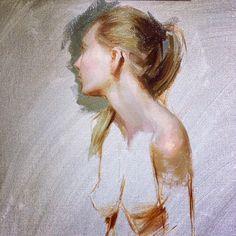 Tonight's #painting. #art #allaprima #thursdaynightsession CaseyChildsart