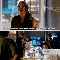 """""""Cisco, we all make mistakes to protect the people that we love."""" #TheFlash #Season3 #3x02"""