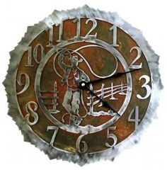 western wall clocks