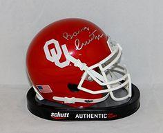Oklahoma Sooners Signed Mini Helmets