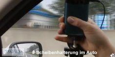 Videotipp: Scheibenhalterung im Auto