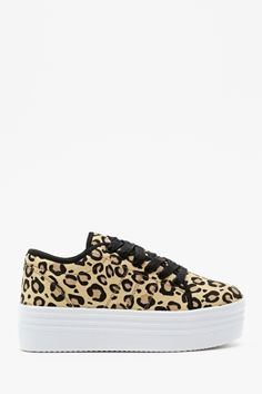 Animal Instinct Platform Sneaker== everyone remember the white one like this from Steve madden in middle school? Crazy Shoes, Me Too Shoes, Platform Sneakers, Shoes Sneakers, Summer Sneakers, Ugg Shoes, Shoe Boots, Ankle Boots, Uggs For Cheap