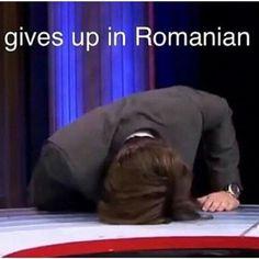 Bucky gives up in Romanian Avengers Memes, Marvel Jokes, Marvel Funny, Marvel Avengers, Avengers Cast, Sebastian Stan, Bucky Barnes, Johnlock, Destiel