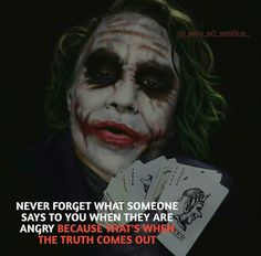 Say it to my face you Keyboard warriors.Ya, I never understood that Kissing thing.she just ate 2 Tuna sandwiches! Joker Qoutes, Best Joker Quotes, Badass Quotes, Heath Ledger Joker Quotes, Joker Heath, Joker Joker, True Quotes, Motivational Quotes, Inspirational Quotes