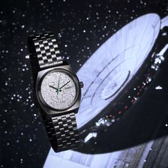 This watch is fully operational | Nixon Star Wars Death Star Time Teller Watch