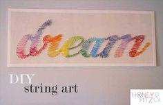 10 ideas para decorar con hilos o lana de colores. | Mil Ideas de Decoración