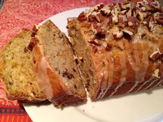 organge pecan sweet bread - DELICIOUS! and healthy! :)