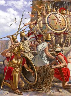 Alexander's siege of Tyre - lasted 7m and fulfilled Bible prophecy in that the Macedonians constructed a causeway to finally reach & defeat Tyre.