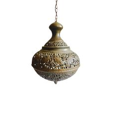 This one is heavily etched and decora. Brass Pendant Light, Brass Chandelier, Pendant Lamp, Moroccan Lanterns, Moroccan Decor, Moroccan Bedroom, Moroccan Tiles, Cascade Lights, Turkish Lamps