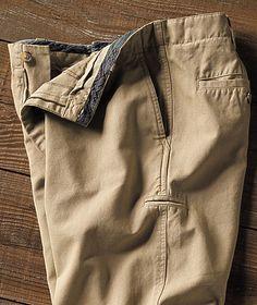 Great Men's Pants - A Cut Above Khaki-Carbon 2 Cobalt