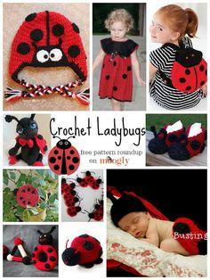 10 Free Crochet Ladybug Patterns: