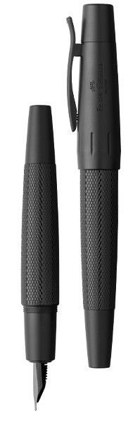 Faber-Castell Pure Black e-motion Fountain Pen