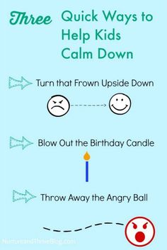 How to help kids calm down