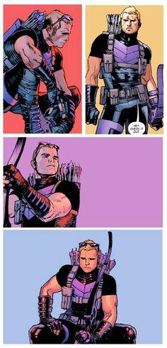 Hawkeye by Olivier Coipel *