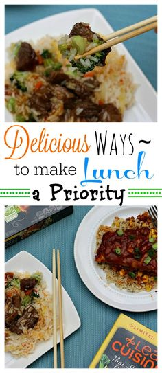 Make your lunch a priority! Be sure to live a healthier lifestyle with delicious food choices! These gluten-free options will make meal time amazing!