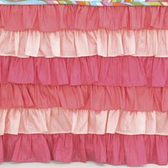 the perfect bed skirt for the girly-girl!