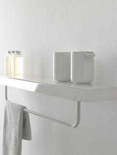 Porta asciugamani / mensola bagno FLUENT | Mensola bagno - INBANI