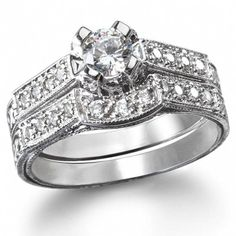 This is the one! Tiffany & Co. | Engagement Rings | Round Brilliant With Channel-set Band  http://www.charleskoll.com/custom-design-your-dream-jewelry-how-it-works/