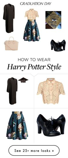 """Graduation Day"" by that-musical-life-though on Polyvore featuring self-portrait, Chicwish, Givenchy and graduationdaydress"