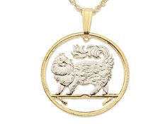 Maine Coon Cat Coin Pendant   https://www.etsy.com/listing/210985618/maine-coon-cat-pendant-and-necklace-isle