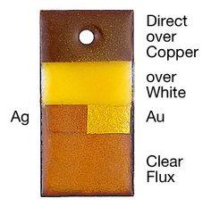 Yellow enamel