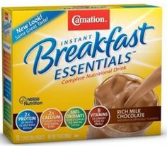 $4.00 off Any (3) Carnation Breakfast Essentials Coupon on http://hunt4freebies.com/coupons