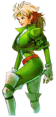 Rogue, Marvel Vs. Capcom 2, Art by Bengus.