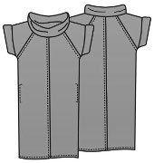 Выкройка платья для полных