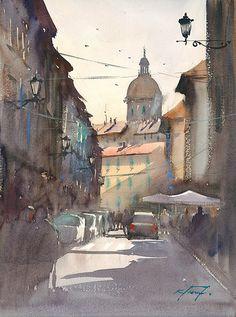 Street, Florence, Italy | Keiko Tanabe