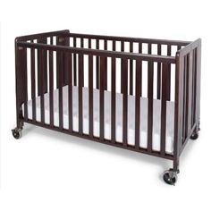 Foundations Hideaway Full Sized Folding Crib, Antique Cherry  http://www.babystoreshop.com/foundations-hideaway-full-sized-folding-crib-antique-cherry-2/