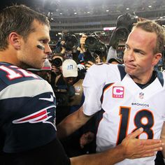 Peyton Manning says Tom Brady texted an apology for email flap #PeytonManning #TomBrady #NFL #AllTimeGreats