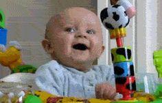 Ser bebé es un festival de emociones