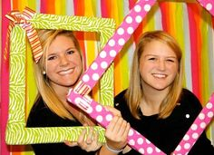 cute bid day activity? Have a sister taking snapshots of girls with frames, put up on facebook.