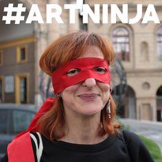 mitica Meri #ArtNinja a Macerata per il Favoloso #Ratatafestival! #IAmArtNinja #Ratatà #mocreative #enjoythecommunity