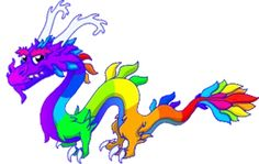 The rainbow dragon is so cool I already have it, and i know how to get it is cloud dragon and lava dragon or just get the app DV guide to breed rare dragons it really works.