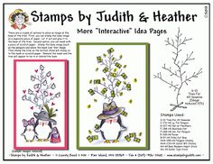 Stamps by Judith and Heather: New Idea Sheets