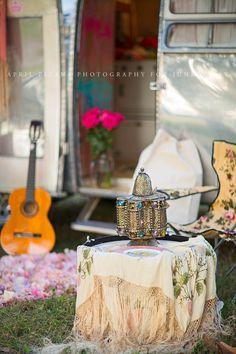Miranda Lambert's moms airstream // junk gypsies // APRIL PIZANA PHOTOGRAPHY