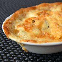 Potato gratin square