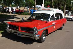 1963 Pontiac Bonneville Superior Ambulance