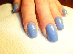 Plain Essie Blue - Nail Art Gallery by NAILS Magazine