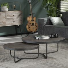 Couchtisch Salon Tired of an 0815 coffee table? With our living room table Salon you bring a stylish and robust table into your home. Diy Furniture Flip, Diy Cardboard Furniture, Living Furniture, Custom Furniture, Acacia, 2 Coffee Tables, Home And Living, Living Room, Distressed Furniture