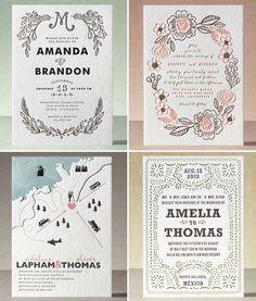 Invitaciones de boda originales que no te puedes perder!