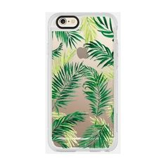 Casetify Under The Palm Trees Iphone Case Green By (525.000 IDR) ❤ liked on Polyvore featuring accessories, tech accessories, phone case, electronics accessories, iphone sleeve case, iphone cases, green iphone case, apple iphone cases and iphone cover case