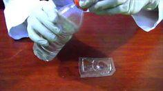 como hacer un molde y una escultura con resina cristal - YouTube