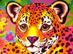 this has to be where my love for leapord print came from.._lisa frank