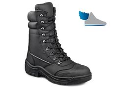 Bezpečnostná poloholeňová obuv s oceľovou tužinkou a oceľovou stielkou odolnou…